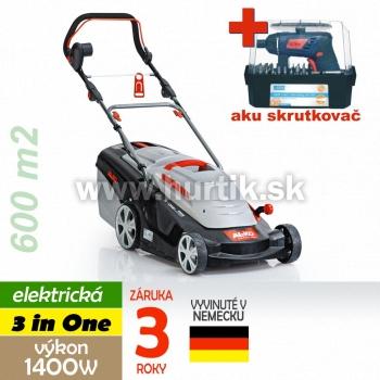 Kosačka elektrická COMFORT 40 E, 3 in ONE, 1400W