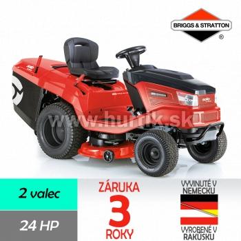 Traktor trávny T 23-125.6 HD V2 Premium, záber 125cm, B&S 8240 / 24HP - 2 valce