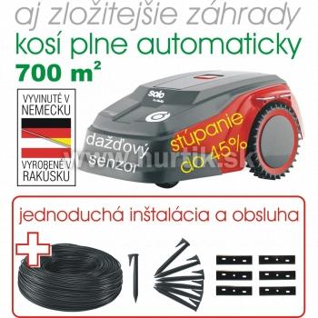 Aku robotická kosačka ROBOLINHO 700 E / do 700 m2