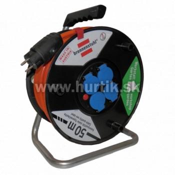 Bubon predlžovací 4z/50m (3G1,5) na 230V, s káblom Bremaxx