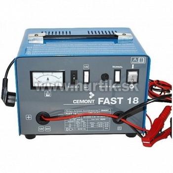 Nabíjač autobatérií FAST 18