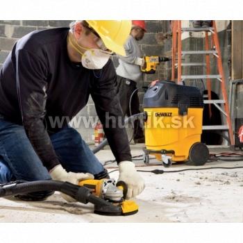 Brúska uhlová - set na brúsenie betónu DWE4217KT/1200W - 125mm/