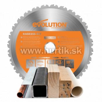 Kotúč pílový EVO 255mm pre pílu pokosovú R255 a RAGE 3, MULTI_funkčný