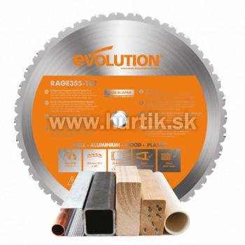 Kotúč pílový EVO 355mm pre pílu rezaciu R355, MULTI_funkčný