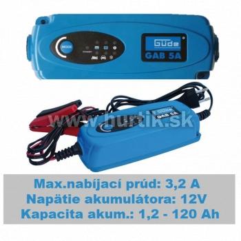 Nabíjač autobatérií GAB 5A