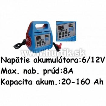 Nabíjač autobatérií GAB 8A