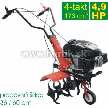 Rotavátor benzínový_4-takt, GF 603, záber 60cm