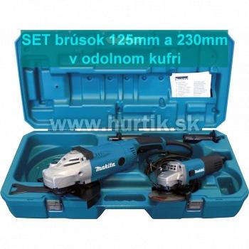 Sada DK0053G - Brúska uhlová GA9020 + brúska 9558HNRG