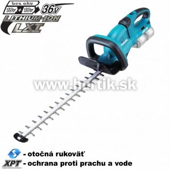 Aku plotostrih DUH551Z (2x 18V, bez akumulátorov, nabíjačky a prepravného kufra)