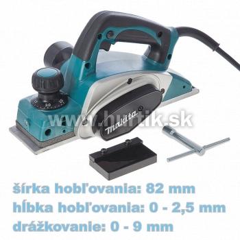 Hoblík elektrický KP0800