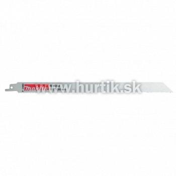 List pílový do chvostovej píly 290mm / 1ks (oceľové a liatinové rúry 3-10mm, farebné kovy, izolačný materiál, drevo s klincami)