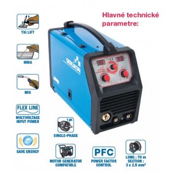 Invertor multiprocesný CITOMIG 180 MP HPF