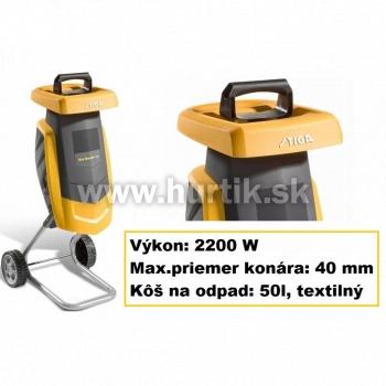 Drvič záhradného odpadu BIOMASTER 2200, 2200 W, 40mm